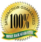 The Good Old Money-Back Guarantee Seal.
