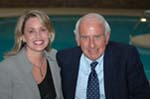Jim Rohn and Tina Downey